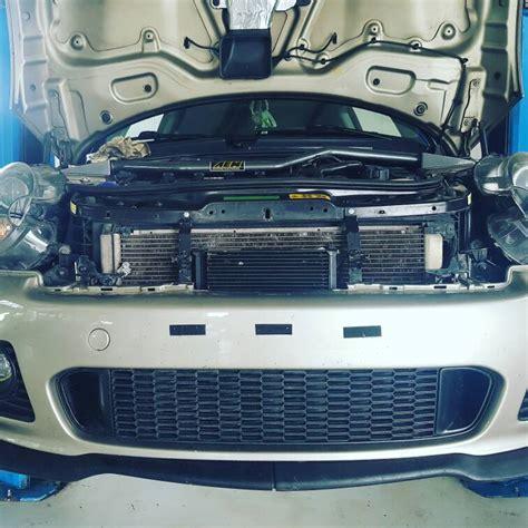 r56 jcw cooler mini cooper s jcw cooler install diy vaios mod