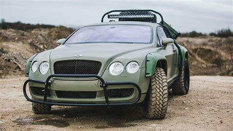 custom bentley continental custom dakar inspired road bentley continental gt sold
