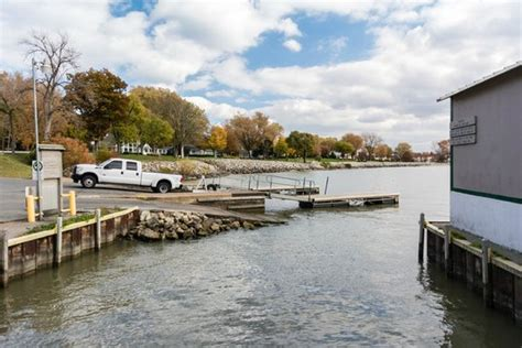 public boat launch port clinton ohio boat launch on lake erie picture of catawba island state