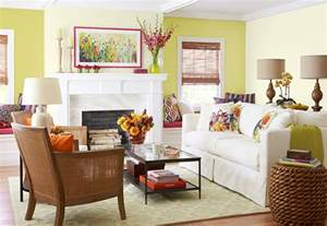garden inspired color scheme living room