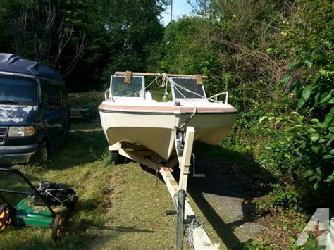 glastron boat trailer parts glastron 15 foot boat and trailer with 75 horse power