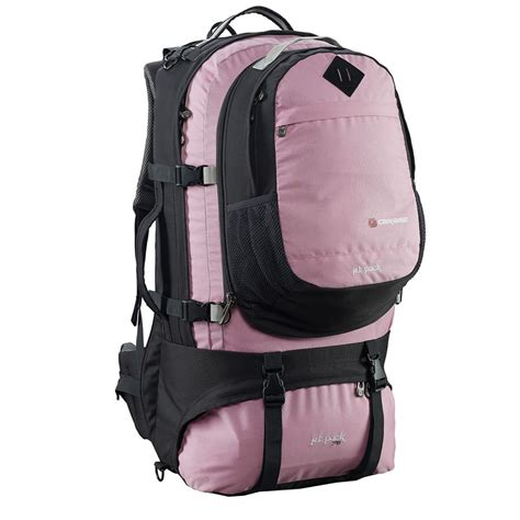 pink backpacking backpack buy caribee jet pack in pink travel backpacks for