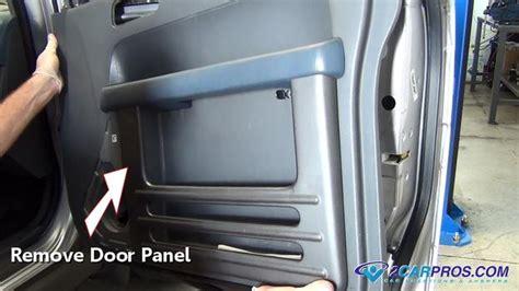 car repair world window motor and regulator replacement