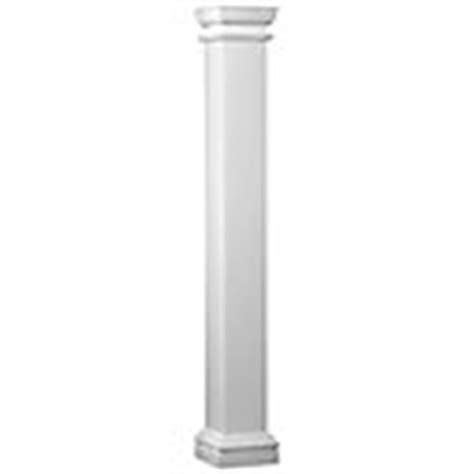 Fiberglass Columns Home Depot Hb G Fiberglass Square Column 8 Inch X 8 Inch X 8