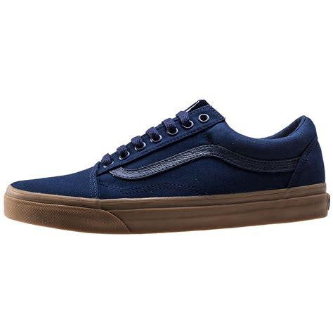 Oldskool Blue vans skool mens trainers in blue gum