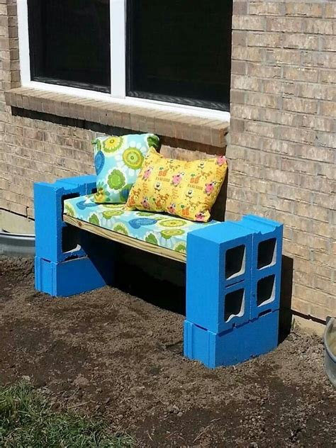 cynder block bench 17 best images about cinder block on pinterest outdoor