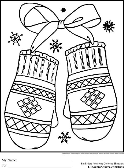 free coloring pages of house in winter