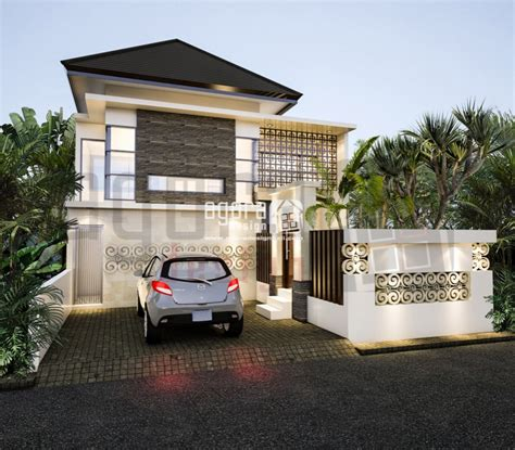 desain rumah nuansa bali desain arsitektur dan interior rumah didin dan bambang
