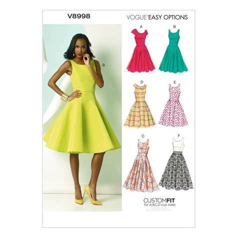 design a dress pattern vogue misses dress pattern v8998 size a5 discount