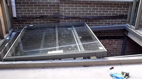 Sliding Roof Shed by Operable Glass Sliding Roof