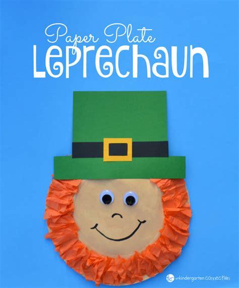 S Day Paper Crafts - best leprechaun and shamrock crafts onecreativemommy