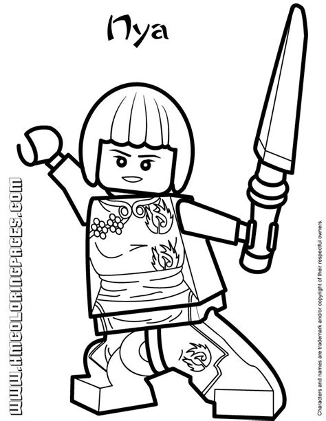 lego ninjago season 4 coloring pages all ninjago coloring pages ninjago nya coloring page