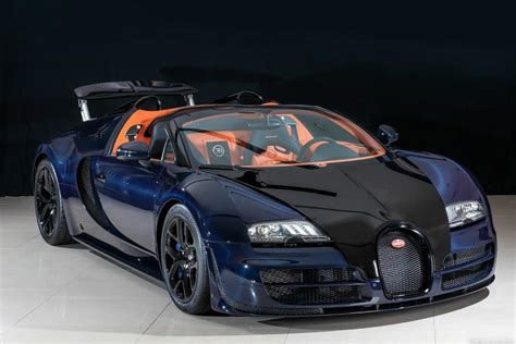 Carbon Bugatti For Sale Unique Blue Carbon Bugatti Veyron Vitesse In