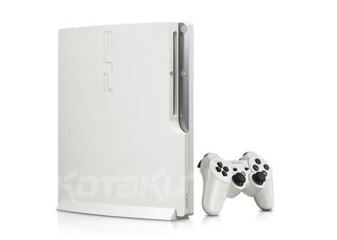 Playstation 3 Sony Made Id Jepan Hdd 320gb Fu Premium B15 O115 ps3 slim goes white hdd increases to 320gb kotaku australia