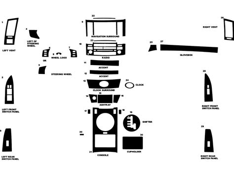 infiniti fx35 dashboard 2005 infiniti fx35 dash kits custom 2005 infiniti fx35
