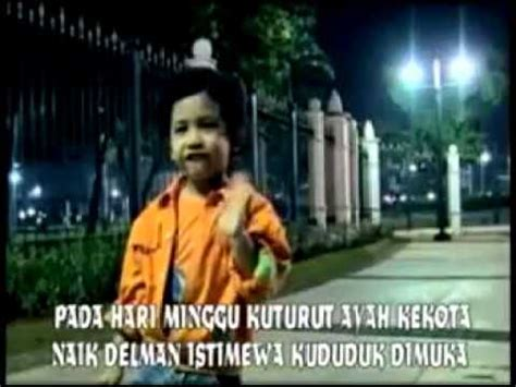 Lagu Karaoke Anak Anak lagu anak anak naik delman