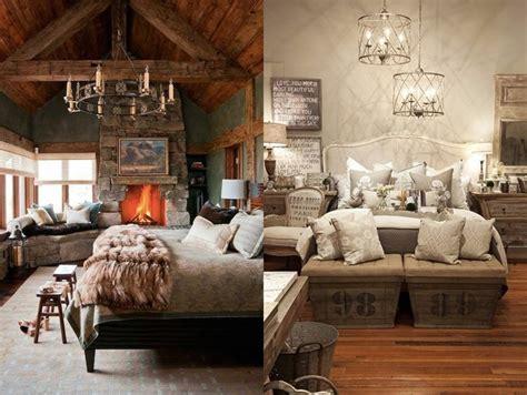 da letto rustica ladari moderni camere letto stile rustico retr with