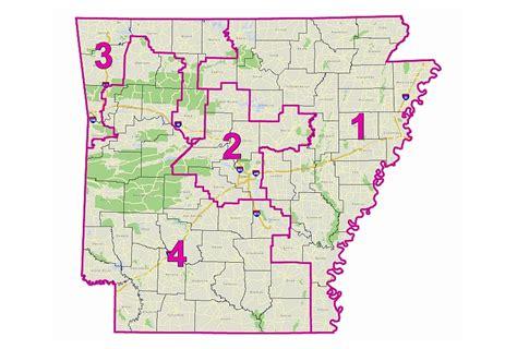 us representatives arkansas map arkansas geostor arkansas congressional district