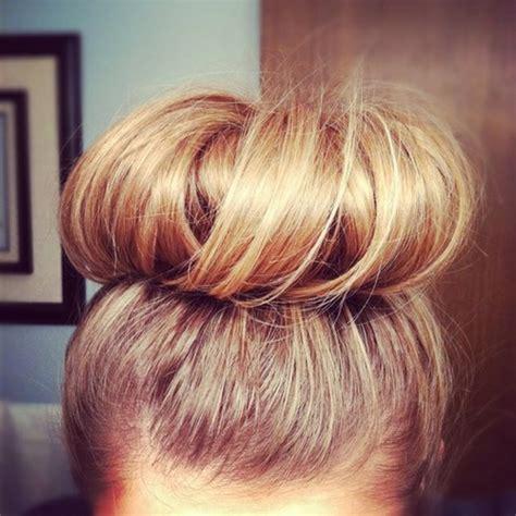 easy sock bun for hair the hair donut sock bun