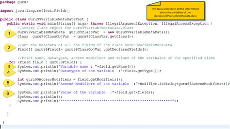 tutorial java reflection java reflection api tutorial