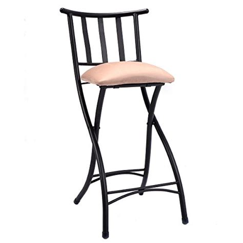 Folding Counter Height Bar Stools by Costway Set Of 4 Folding Bar Stools Counter Height Bistro
