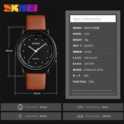 Skmei Jam Tangan Analog Pria 1210 Emws95nu skmei jam tangan analog pria 1210 brown blue