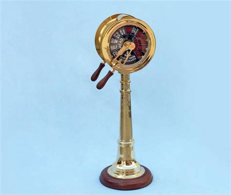 nautical home decor wholesale buy brass titanic engine room telegraph 40 inch