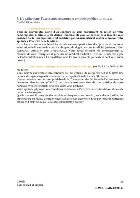 Lettre De Motivation Candidature Spontanée Fonction Publique Territoriale emploi lettre de motivation pour cui cae