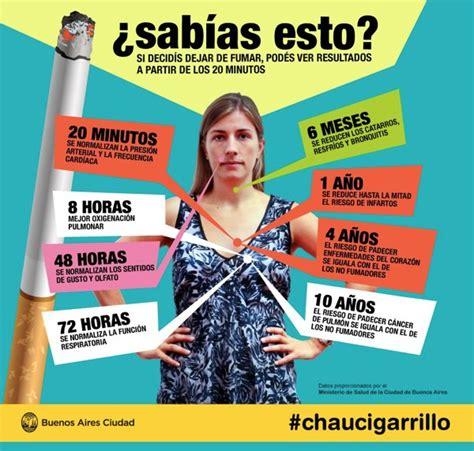 imagenes impactantes para dejar de fumar infograf 237 a en espa 241 ol sobre los beneficios de dejar de