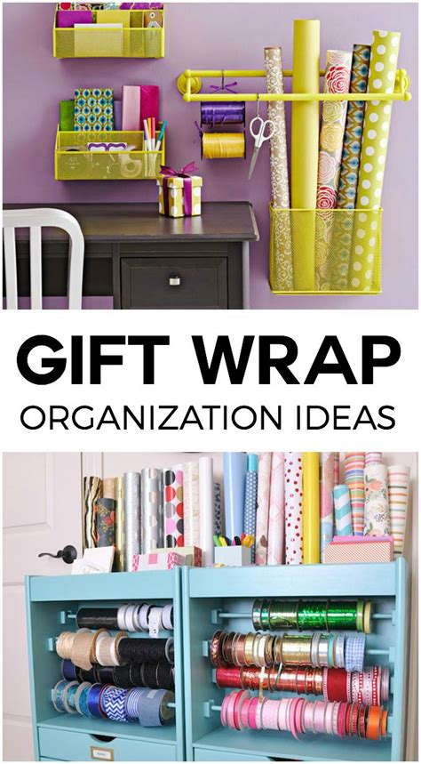 gift wrap storage ideas gift wrap storage ideas