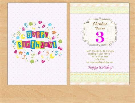 birthday card collage template greeting card gets creative with a card maker amoyshare