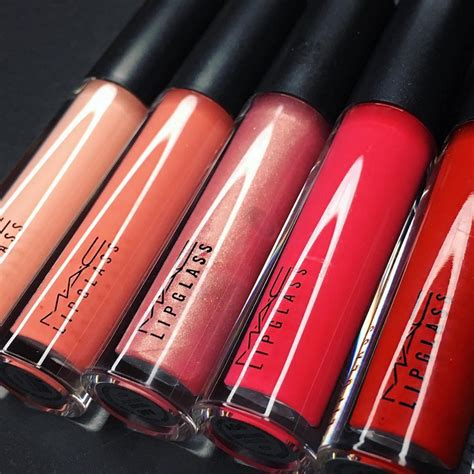 Mac Makeup mac cosmetics is reving their lipglass glosses