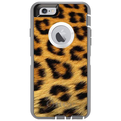 Hair Iphone 6 6s 6 Custom custom otterbox defender for iphone 6 6s 7 plus brown black leopard fur skin