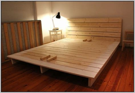 Futon Selber Bauen by Bett Selber Bauen Einfach Kreativ Einrichten