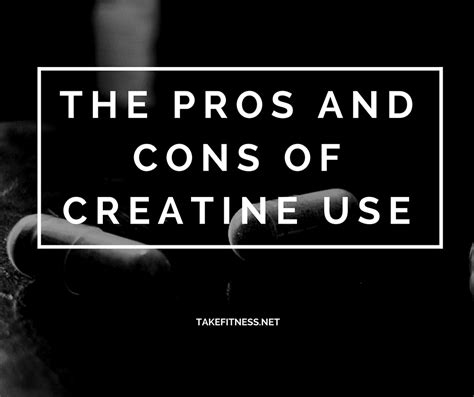creatine cons take fitness fitness and nutritional advice