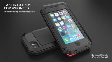 Hardcase Armor Metal Aluminum Luxury Cover Casing Iphone 6 Plus 55 lunatik taktik iphone 5s debuts iphoneness