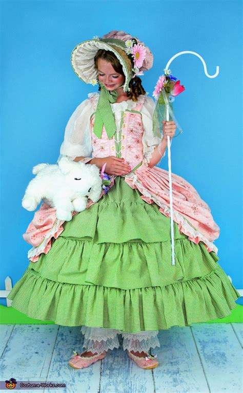 bo peep costume  girls photo