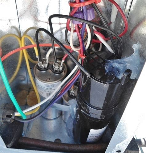 capacitor wiring for air conditioner coleman rv air conditioner wiring diagram for start capacitor wiring diagram fuse box and