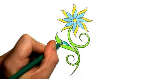 pretty simple tattoo designs pretty easy to draw flowers how to draw a really pretty