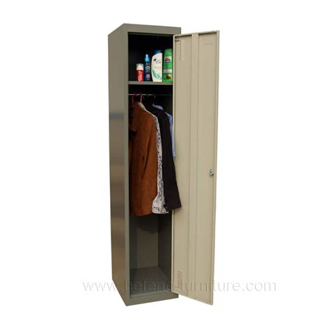 Rak Sudut Stainless Kokoh Single locker besi 1 pintu hefeng furniture