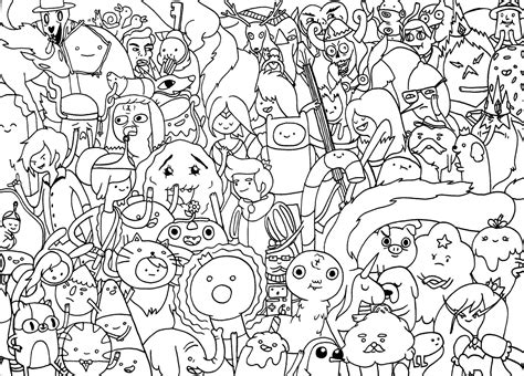 coloring pages adventure time adventure time coloring page coloring pages of epicness