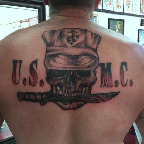 new tattoo policy usmc 2015 75 cool usmc tattoos meaning policy and designs 2018