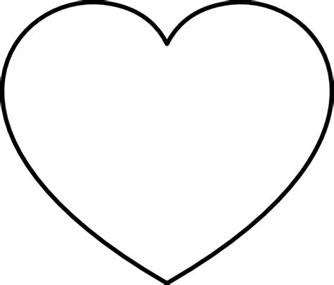 9 best images of big heart printable out large heart