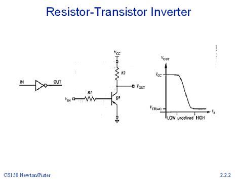 resistor transistor inverter
