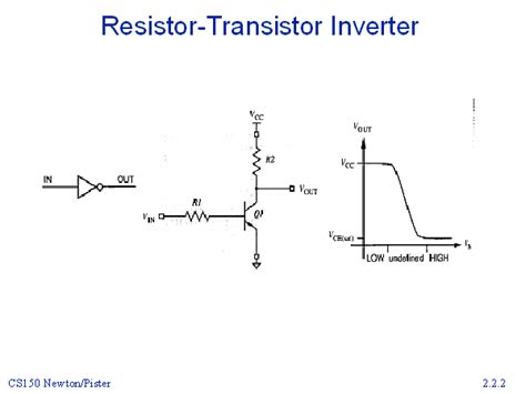 resistor inverter resistor transistor inverter