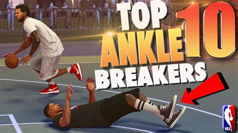 Mba 2k17 Best Crossover by Nba 2k17 Top 10 Park Ankle Breakers Crossover Dribble