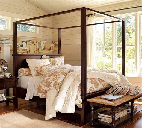 letto a baldacchino in legno letti a baldacchino letti singoli