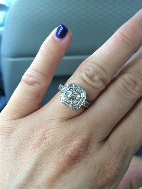 Wedding Ring Gap by Show Me Your Engagement Ring And Wedding Band Gap Non
