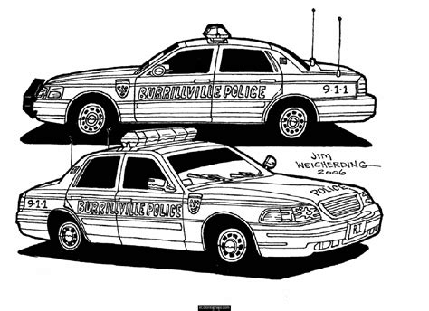 coloring pages of police cars police car pictures for kids cliparts co