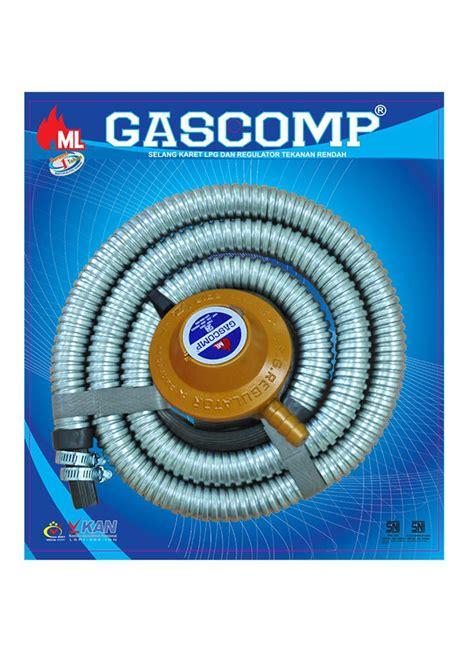 Paket Regulator Dan Selang Gascomp Berasuransi gascomp selang regulator paket metal grc 925e pcs
